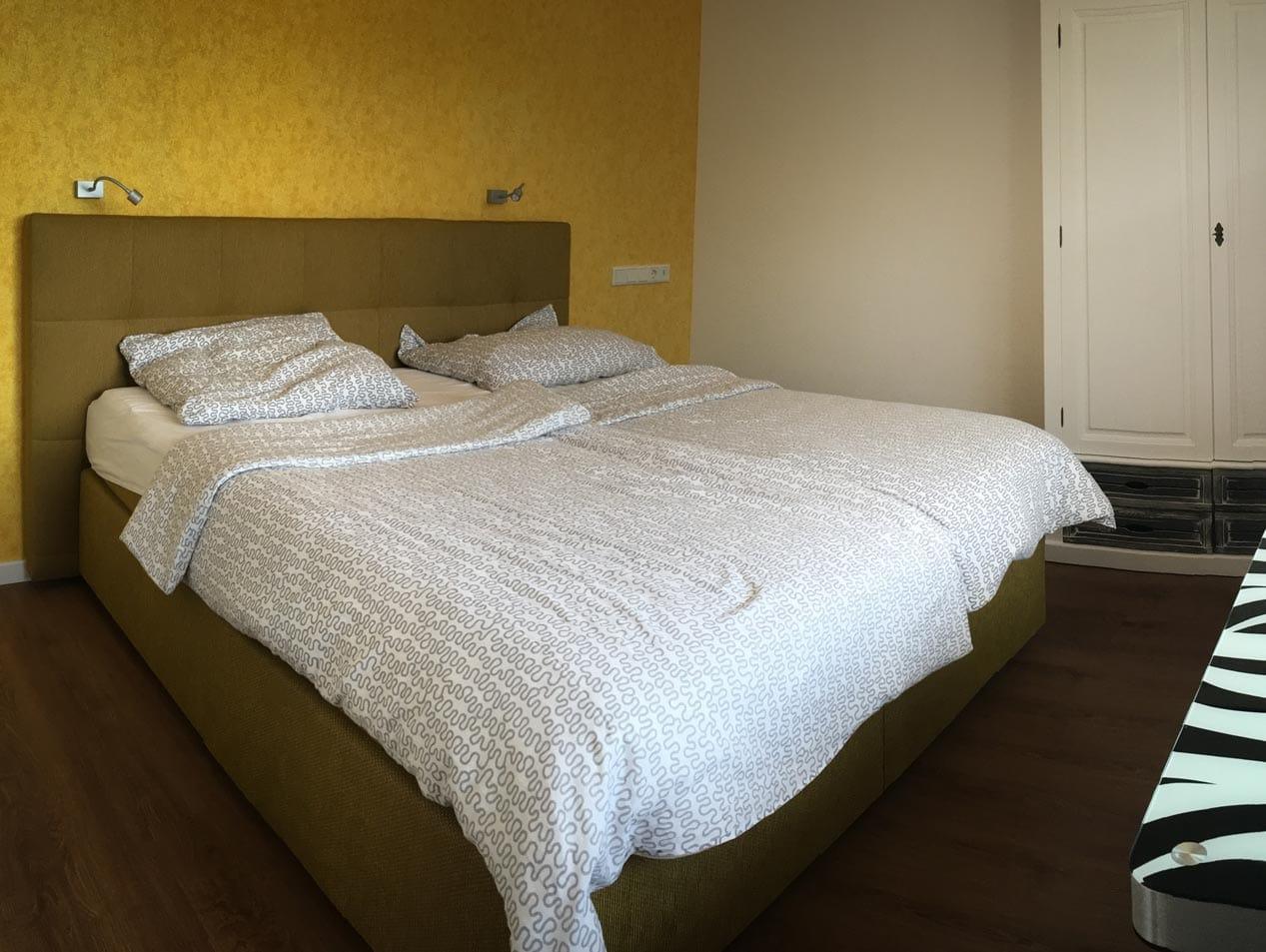 Schlafzimmer der Unterkunft | Hessischer Tennis-Verband