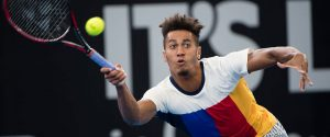 Michael Mmoh | tennis match Brisbane