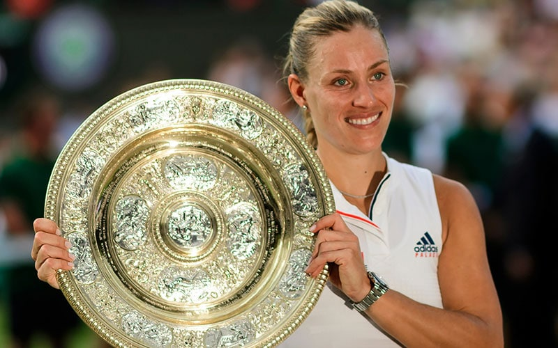 Together back to the Top 10 – Angelique Kerber